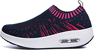 Unparalleled beauty Women's Walking Tennis Shoes - Lightweight Athletic Casual Gym Slip on Sneakers