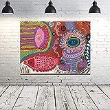 YuanMinglu Dame Amor Lienzo Arte Cartel Pintura al óleo Imagen de la Pared impresión Cocina hogar Oficina Dormitorio decoración sin Marco Pintura 60x75 cm