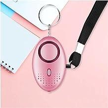 PULLEY Persoonlijke Alarmen voor Vrouwen, 130 DB Emergency Security Alarm Sleutelhanger voor Kinderen Vrouwen en Ouderen (...