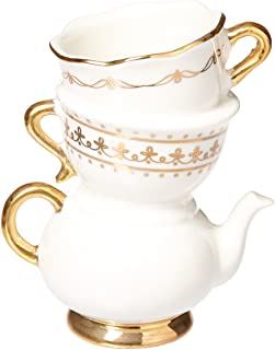 Kate Aspen ,Tea Time Whimsy Ceramic Bud Vase, Party Favor, Take Home Gift, Wedding Decoration