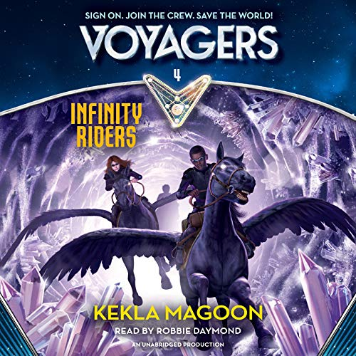 Infinity Riders audiobook cover art