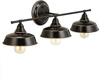 Best oil rubbed bronze bathroom light fixtures Reviews