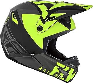 Fly Racing 2019 Elite Helmet - Vigilant (Large) (Matte Black/HI-VIZ Yellow)