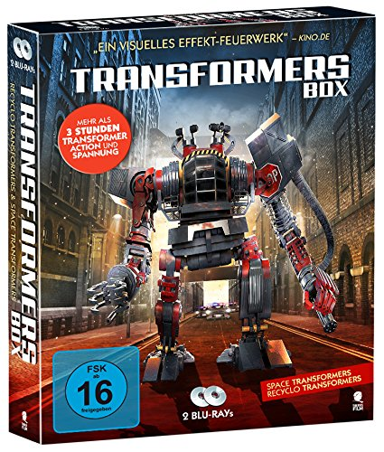 Transformers Box mit 2 Discs [Blu-ray] (Transformer Action und Spannung: Space Transformers & Recyclo Transformers)