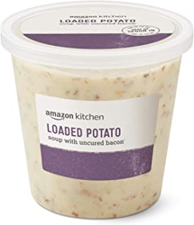 Amazon Kitchen, Loaded Potato Soup with Uncured Bacon, 24oz