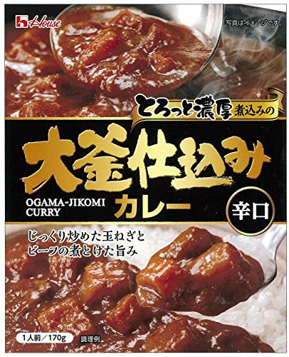 大釜仕込みカレー 辛口 170g
