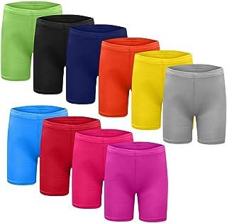 9727a7438b Feytuo Shorts Uni-Couleur élastique Ceinture de Pantalon Bermuda Femme en  Coton Coupe Large Poche
