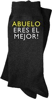 Calcetines de hombre Abuelo eres el mejor. Calcetines divertidos, con mensaje. Regalo, padre, abuelo, profesor.