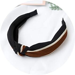 Wave Point Bow Headwear Cute Striped Floral Rabbit Ears Hair Bands Girls Head Wrap Women Turban Headband,49
