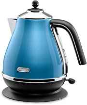 Delonghi icona Collection Electric kettle KBO1200J-B (Blue)【Japan Domestic genuine products】