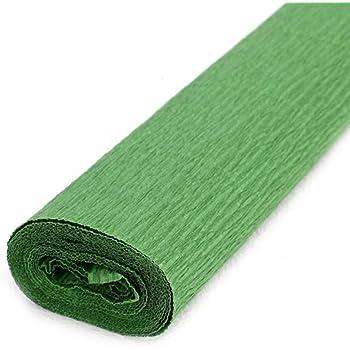 Alberts Grande papier cr/épon/ /Vert fonc/é/ /50/cm x 250/cm
