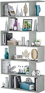 Salone Negozio Online Kit LIBRERIA Athena Design CM 80X25X192H Cemento
