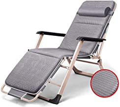 Rocking Chair Rocking Chair Recliner Metal Frame Folding Bed Single Bed Nap Bed Office Lodging Bed Adult Adult Bed Lounge ...