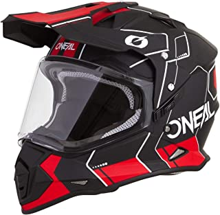 "O""NEAL Sierra Comb Adventure Enduro MX Motorrad Helm schwarz/weiß 2020 Oneal"