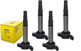 DEAL Pack of 4 New Ignition Coils For Toyota Prius/Corolla/Matrix Scion iM/xD Pontiac Vibe Lexus CT200h 1.8L L4-Toyota C-HR 2.0L L4 Replacement# UF-596 UF619 C1714