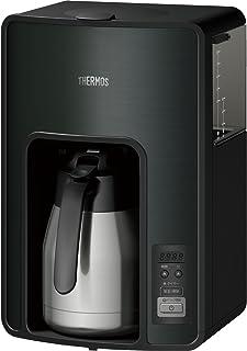 サーモス 真空断熱ポットコーヒーメーカー 1.0L ブラック 【タイマーで前日予約が可能】 ECH-1001 BK