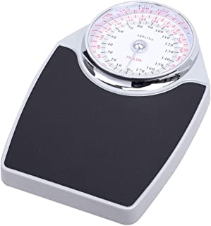 Bathroom Scale Mechanical, Precision Weight Scales, Easy-to-Read Analog dial, Rugged Metal Platform, no Battery Required