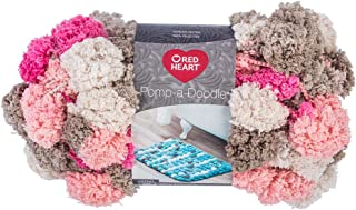 RED HEART Pomp-A-Doodle Yarn, Pinksand