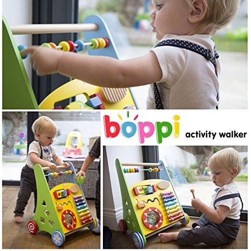 Lauflernwagen für Babys aus Holz von boppi® – Musik - 7