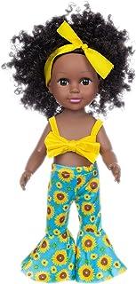 Czarna dziewczyna lalki afrykańskie lalki do zabawy, czarne afrykańskie lalki dla dziewczynek, czarna lalka dla dzieci afr...