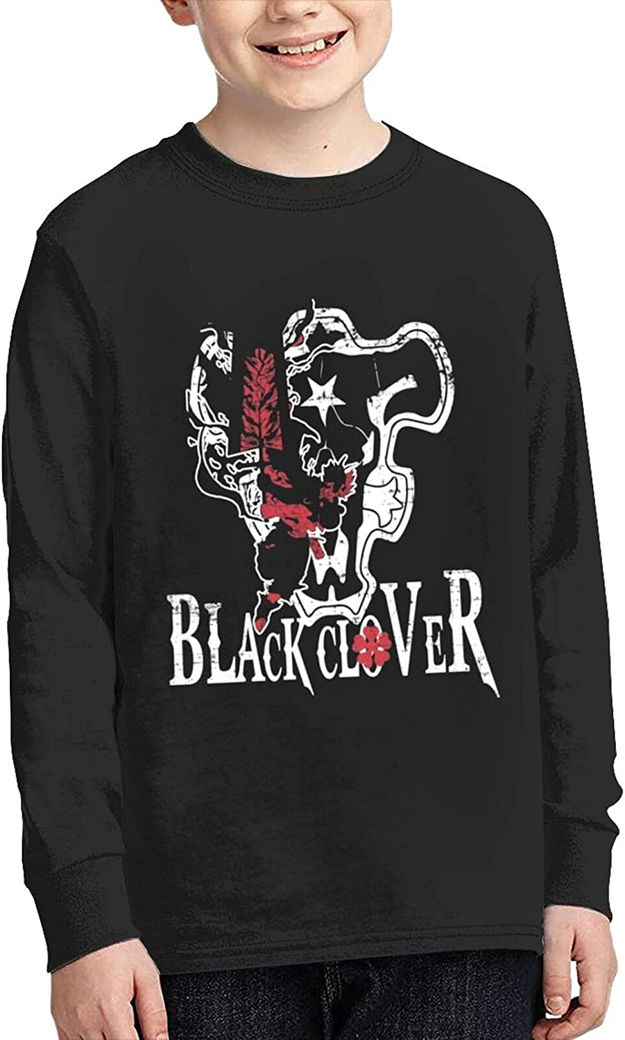 BlackClover Art Super special price T Shirts cheap Teen Anime Funny Sleeve To Long Tee