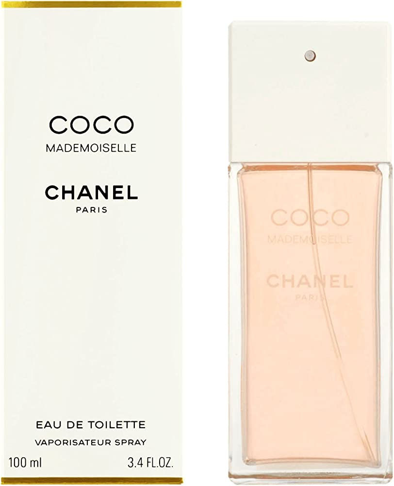 Chanel coco mademoiselle eau de toilette  per donna 100 ml spray 115768