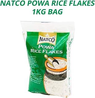 Natco Powa Rice Flakes Mediano | Arroz Batido Precocinado | Copos de Arroz de Cocción Rápida | Alternativa Saludable | Ideal para el Arroz con Leche ...