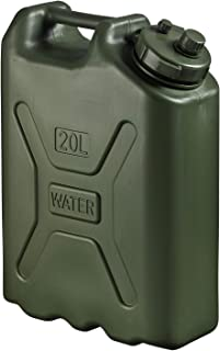 Scepter BPA Durable 5 Gallon 20 Liter Portable Water Storage Container, Green
