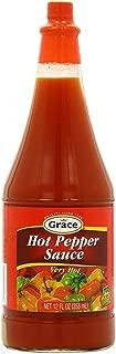 GRACE HOT PEPPER SAUCE 12 OZ