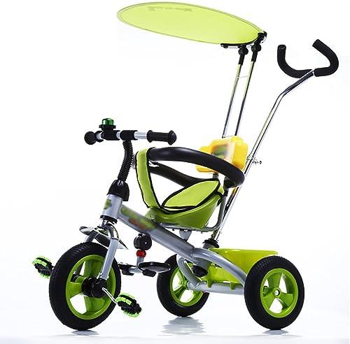 Tricycles- Enfant bébé vélo bébé préscolaire vélo bébé Transport 1-3-6 Ans (Couleur   Style2)