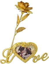 VIKAS GIFT GALLERY Victoria Love Story Gold Plated for Men and Women (Rose)