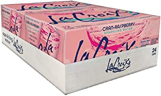 Lacroix Sparkling Water, Cran-Raspberry, 12 Oz, Case of 24