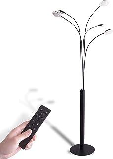 VENTOTA フロアライト フロアスタンド ランプ リモコン付 調光調色LED 間接照明FuochiBK