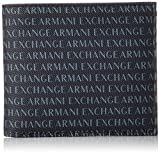 Armani Exchange Logo Credit Card, Portefeuilles homme, Bleu (Navy), 9.5x1.5x11.5 cm (B x H T)