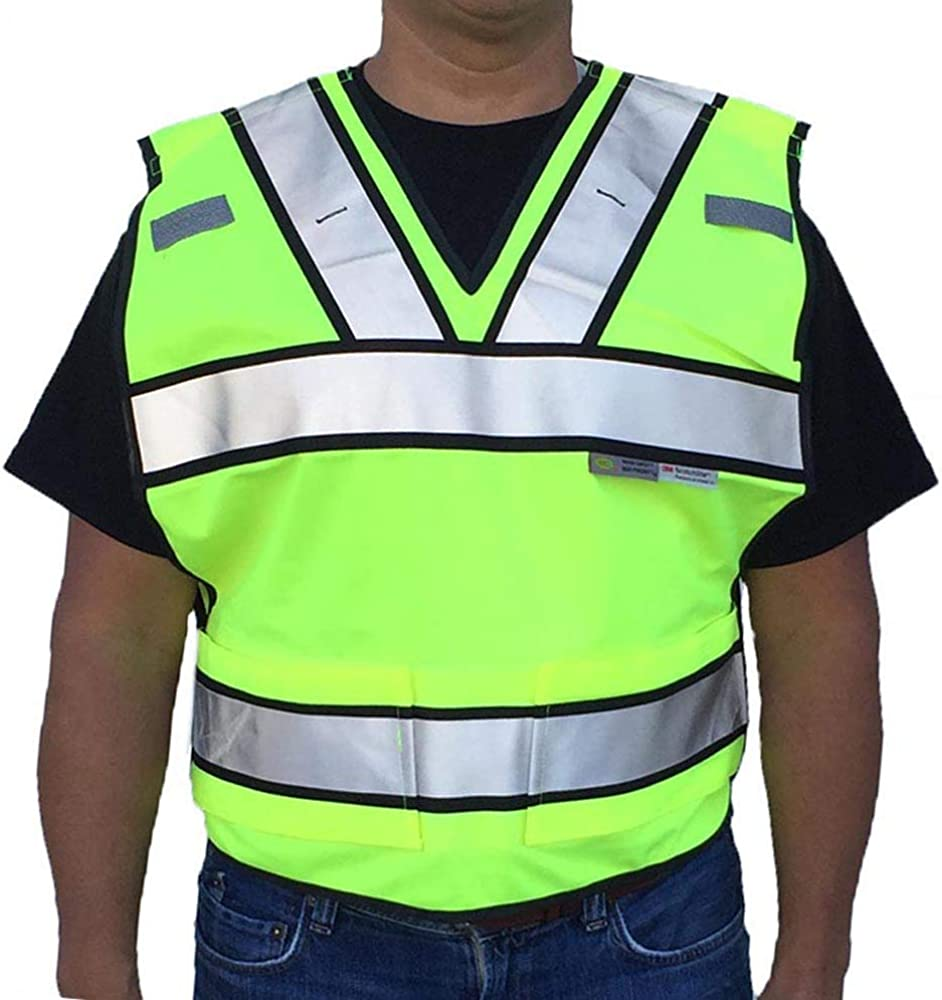 Max 54% OFF 3C Products Low price SVP7000 ANSI ISEA Class 4-Po Vest 2 Public Safety
