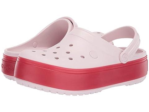 39e141719be32 Crocs Crocband Platform Clog at Zappos.com