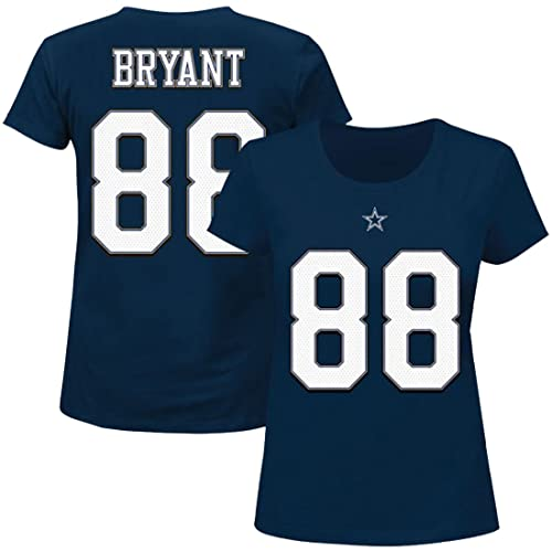 7d5c75fd3 Dez Bryant Dallas Cowboys  88 Women s Plus Size Player T-shirt (Plus 1X