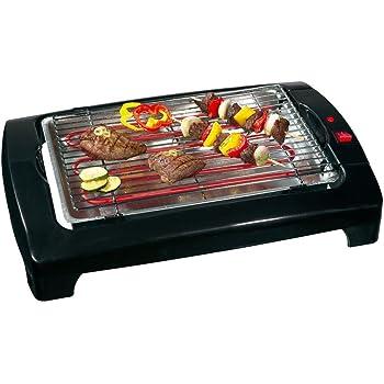 Aigostar Teplo 30CER - Plancha de asar y grill 2 en 1, antiadherente, 1800 watios, selector de temperatura, Fácil de desmontar, Fácil de limpiar. Diseño exclusivo.: Amazon.es: Hogar