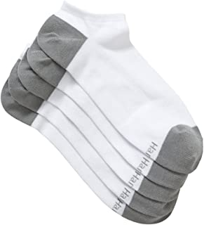 Hanes Men's Cotton Blend Trainer Socks (5 Pack)