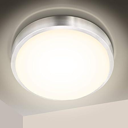 LED Decken-Leuchte Lampe Badlampe IP66 Badezimmer leuchte Esszimmer Balkon Deckenleuchte K/üche Flur(Nicht inkl Leuchtmittel)
