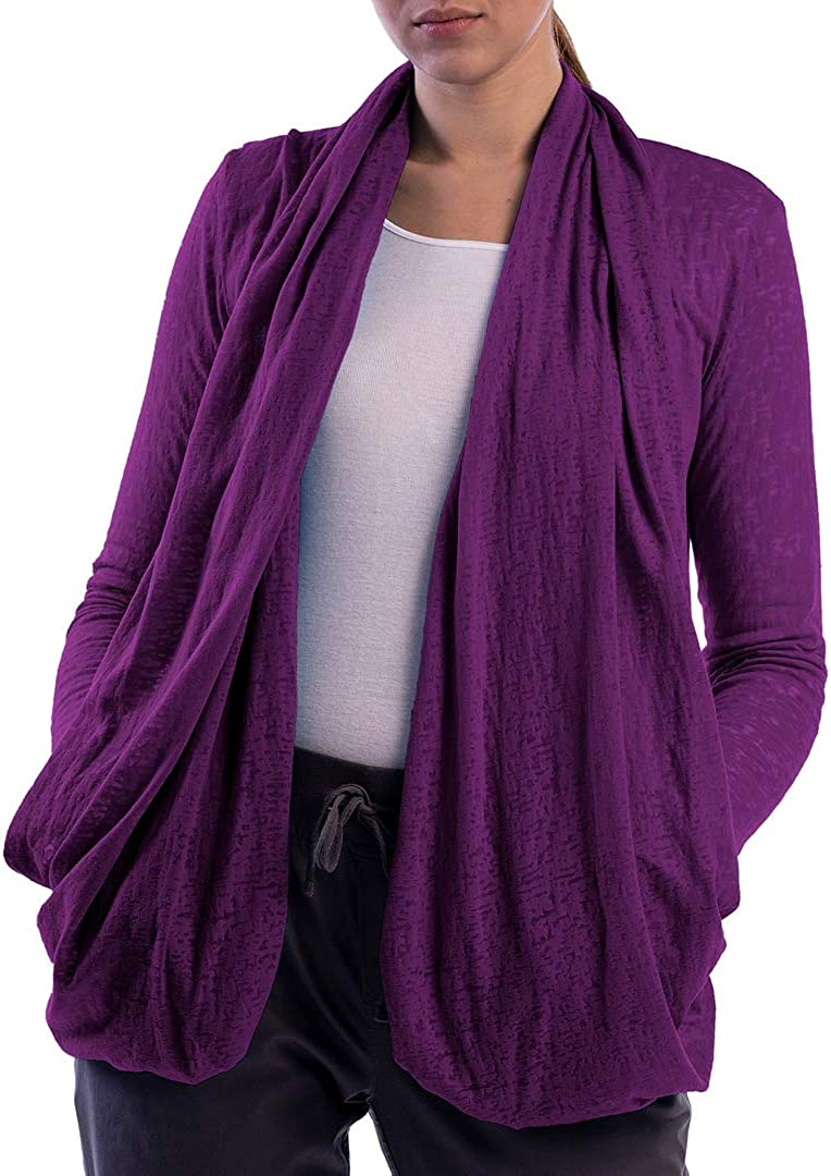 SCOTTeVEST Women's Lucy Travel Cardigan | 4 Secure Pockets | Anti-Pickpocket