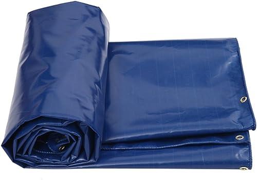 Pare-soleil Extérieur Imperméable à L'eau Bache Voiture Bateau Toit Couverture Housse De Camping Tente Tente - Prougeection UV, 550 G   M2, épaisseur 0,5 Mm, Multi-taille (bleu) (taille   6MX4M)