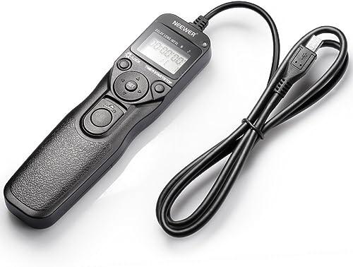 NEEWER 一眼レフカメラ 有線/LCD/タイマー機能付/シャッターリモートコントロール 微速度撮影【並行輸入品】