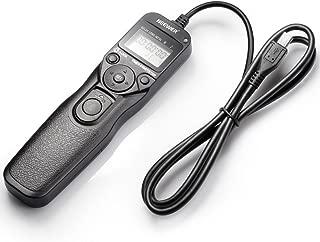 JJC TM-F2 Mando Disparador Temporizador Intervalometro Cyber-Shot DSC-HX300