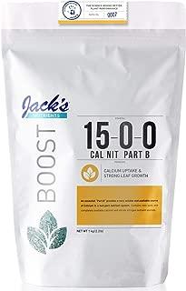 Jack's Nutrients Calcium Nitrate Part B 15-0-0, 2.2lbs