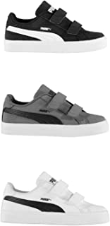 Official Brand Puma Smash Vulc Trainers Childs Boys Shoes Sneakers Kids Footwear