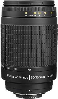 Nikon AF-P NIKKOR 70-300mm f/4.5-5.6E ED VR Fixed Zoom Digital Slr Camera Lens, Black