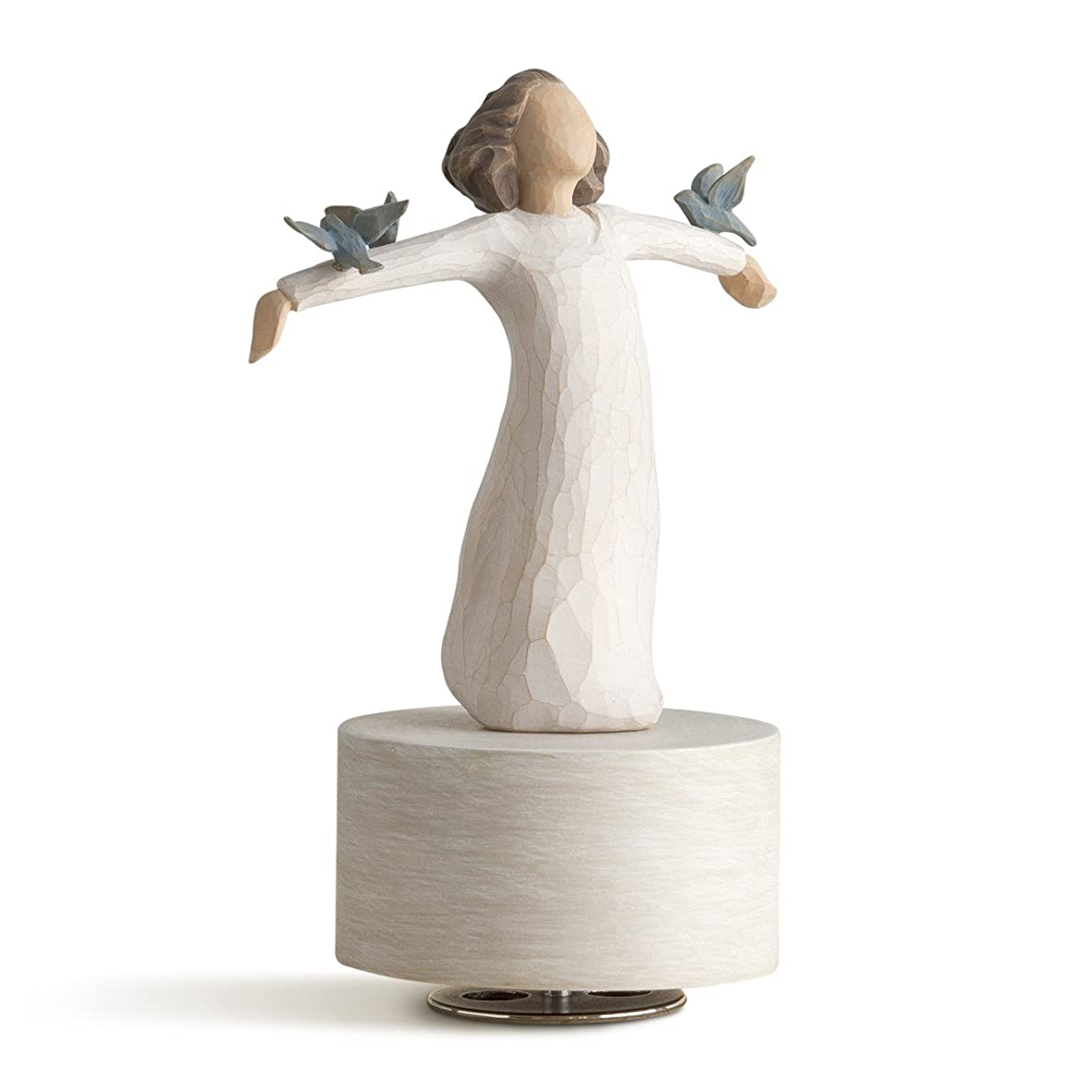 Willow Tree hand-painted sculpted Musical, Happiness