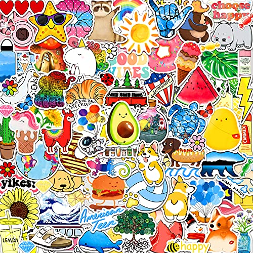 ANERZA 100 PCS Stickers Packs, Cute Vsco Aesthetic...