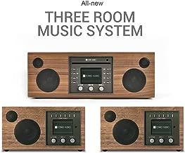 Como Audio: Whole Home Music Solution - 3 System Bundle (Walnut/Black)